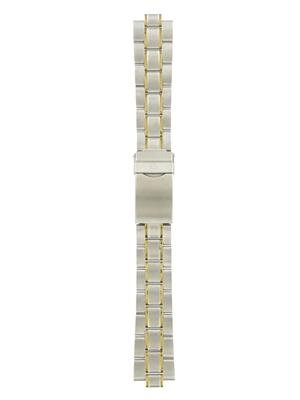 Wenger 19mm Two Tone Metal Watchband Standard Issue by Wenger (Image #1)