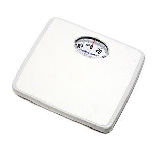 Health O Meter 175LB Mechanical Floor Scale, Capacity 330 lbs, 11-3/8'' x 9-3/4'' x 2'' Platform (Pack of 2)