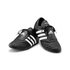 ADIDAS SM II SHOES Black w/White stripes measurement 10.5