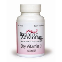 Bariatric Advantage Dry Vitamin D 5000 IU by Bariatric Advantage