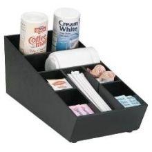 [Dispense-Rite NLO-STK-1BT Countertop Stackable Lid, Straw and Condiment Organizer] (Countertop Condiment Dispenser)