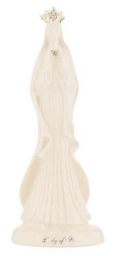 Belleek 4140 Lady of Knock Statue, 11-Inch, White