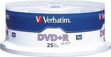 Verbatim - Life Series 25-Pack 16x DVD+R Disc Spindle