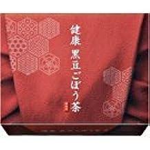 Suntory Healthy Japanese Black Bean and Burdock Tea | Kenko Kuromame Gobo Cha (15 bags - 15 days' supply) (Japan Import) by Suntory