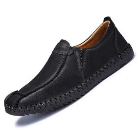 Dimensione Pelle casuale scarpe stile Nero PU Extra particolarmente Inghilterra Uomini Bebete5858 Grande Uomo scamosciato qt1v0