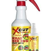 - Xout Anti Bed Bug Spray Kit, Kills Bed Bugs and Dust Mites, Eggs and Larva On Contact, Safe Around Children and Pets