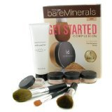 100% Pure BareMinerals Get Started Complexion Kit - Light ( 2xFdn Spf15+Mineral Veil+Face Color+3xBrush+DVD+Brush Shampoo ) - Bare Escentuals - MakeUp Set - 100% Pure BareMinerals Get Started Complexion Kit - -