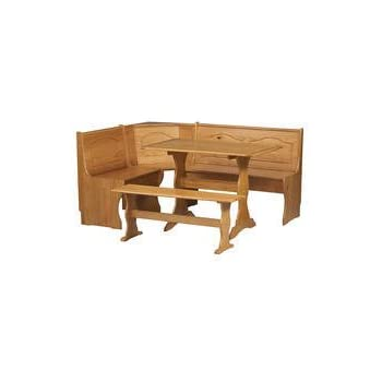 Chelsea Nook 3 Piece Dining Set By Linon