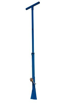 20 Foot Telescoping Light Mast - 12' to 20' Light Boom - Stationary Mast by Larson Electronics