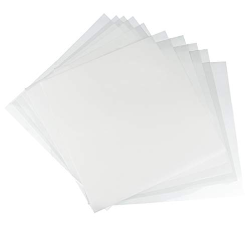 - 10 Pack 6 mil Blank Stencil Making Sheets 12 x 12 inch Compatible Cricut & Silhouette Machine (Mylar Material)