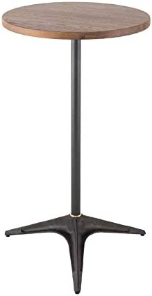 District Eight Compass Black and Gray Bar Table