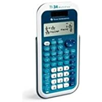 Texas Instruments TI-34 4-Line 16-Character LCD MultiView Calculator,