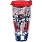 Tervis Tumbler Boston Red Sox 2013 World Series Champs 24oz Wrap with Travel (Sox Plastic Tumblers)