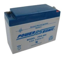 Replacement For PSG-680 PSG SERIES Battery