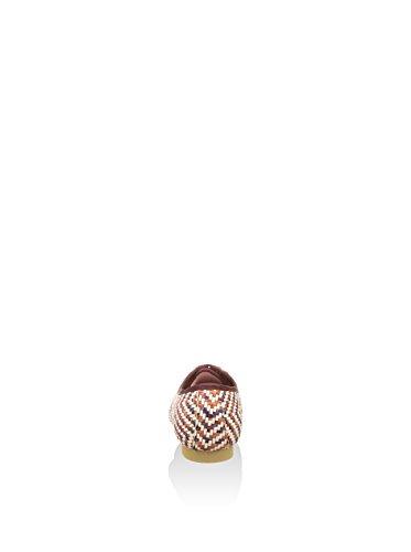 Granate De Zapatos blanco Bisué Eu Cordones 35 qatOT