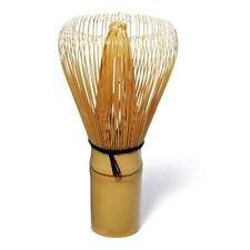 Feelino WMAS-05 Matcha Bambusbesen mit 100 Borsten, handgefertigt und sehr exklusiv, unverzichtbar für eine leichte Matchazubereitung