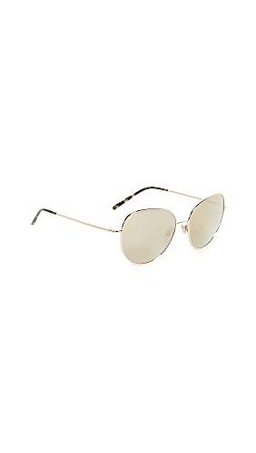Dolce & Gabbana Women's Wire Wrapped Mirror Sunglasses, Gold/Gold, One - Sunglasses Wire Wrapped