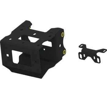 (KFI Products Winch Mount with Contactor Bracket Polaris 2013-2018 Scrambler 850/1000 and Sportsman 2009-2018 ETX 400/450/500/550/570/800/850/1000/Big Boss Models 101740)