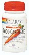 Food Carotene 10,000 IU Solaray 100 Softgel