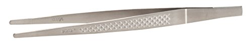 Mercer Culinary M35235 Straight Precision Plus Chef Plating Tong, 6-1/8