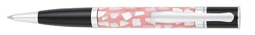 (Monteverde Mini Jewelria Shell Pink Ballpoint Pen (MV59232))