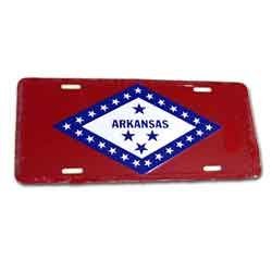Arkansas State Flag License - Shopping Arkansas Fayetteville
