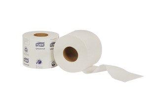 SCA Tork TM1604 Toilet Paper, Ultra-Soft 2 Ply Bath Tissue (48rolls/cs)