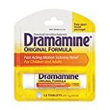 Dramamine 50mg Tablets-12 ct