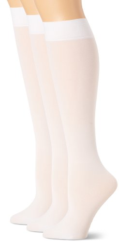 HUE Women's Soft Opaque Knee High Socks (Pack