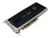 Nvidia Quadro 4000 256core Cuda 2gb Dual Link Dvi Dual Disp Port