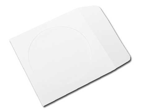 Make Paper Cd Sleeve - mediaxpo Brand 100 Paper CD Sleeves with Window & Flap