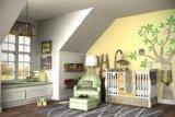 DK Leigh Owl 7 Piece Gender Neutral Crib Bedding Set, (Baby Boy Owl Bedding Crib Sets)
