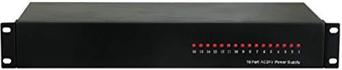 (COP Security 15-PSA2016U 16-Port AC24V/20A Power Supply, Input Voltage AC110/220V, Input Voltage Frequency 60/50Hz, PTC (Resetable) Fuse)
