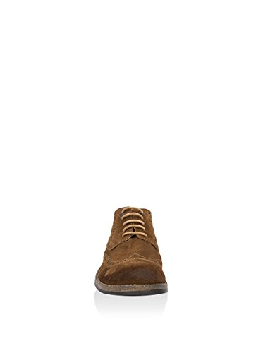 Wrangler Stone, Zapatos de Cordones Derby para Hombre Taupe