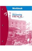 Discovering French Nouveau! Rouge 3 Workbook