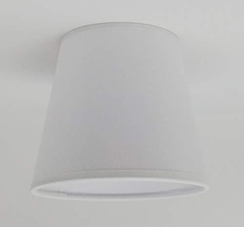 Blanco pequeño vela Clip de pantalla techo lámpara de araña ...