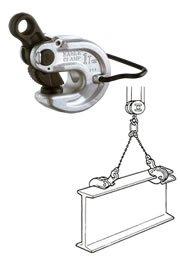 イーグルクランプ VAN型 形鋼横つり用クランプ VAN-1-3-20 (16010200) B01KIZMPB8