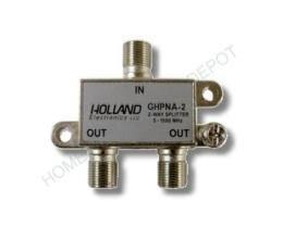 Solderback Splitter - Splitter IPTV RF Broadband 2-Way HomePNA Tested & Certified for applications on U-Verse Networks