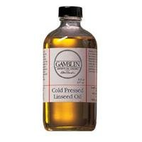 Cold Pressed Linseed Oil Size: 8 oz by Gamblin