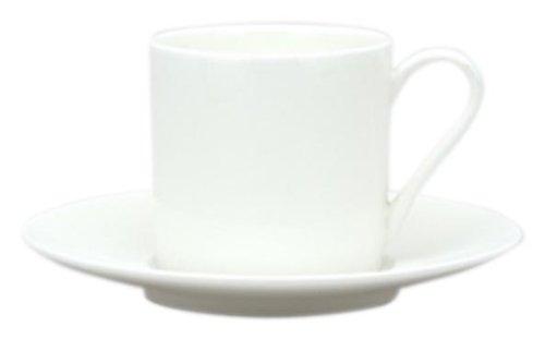 Red Vanilla Pure Vanilla Demitasse Cup and Saucer Set