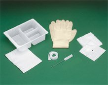 Tracheostomy Clean & Care Trays - Basic Tracheostomy Clean & Care Trays - 20 Per Case - Model -