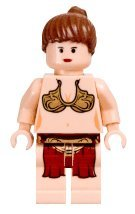 Lego Star Wars Slave Princess Leia Minifigure (2003 version) (Lego Star War People)
