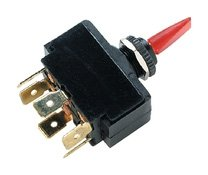 Illuminated Toggle Switch (Positions: Mom. On - Off - Mom. On Terminals: 6 Fits Panel Thru: 1/4 (.64cm)) By Seachoice Products''