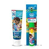 Ready...Set...Brush! Disney Jr. Doc McStuffins Turbo Power Spin toothbrush Plus Bonus Fruit Blast Anticavity Fluoride Toothpaste, 4.2 oz! (Jr Toothbrush Kids)