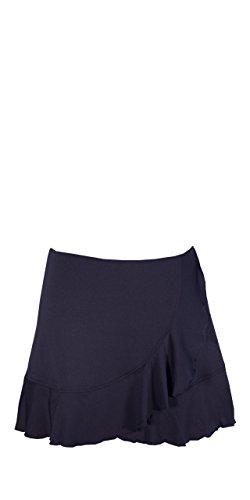 Peachy Tan Team Basic Ruffle Skirt (Womens Basic Skort)
