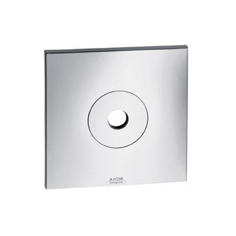 Axor Citterio Collection (Hansgrohe 27419820 Axor Citterio Wall Plate, Brushed Nickel)