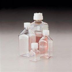 Polycarbonate Durable Bottle (Nalgene Square Bottles, Polycarbonate, 1oz (30mL), case/96)