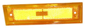 Chevrolet C10 Side Marker (TYC 18-1200-01 Chevrolet/GMC Passenger Side Replacement Side Marker Lamp)