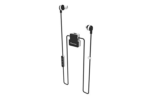 Pioneer Active in-Ear Wireless Headphones with Integrated Clip, White SE-CL5BT(W)