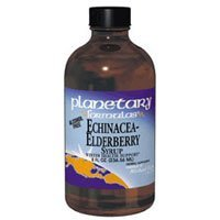 Planetary Herbals Echinacea-Elderberry Syrup , 4-Ounce by Planetary Formulas